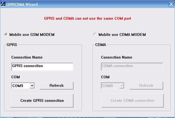 GPRS&CDMA